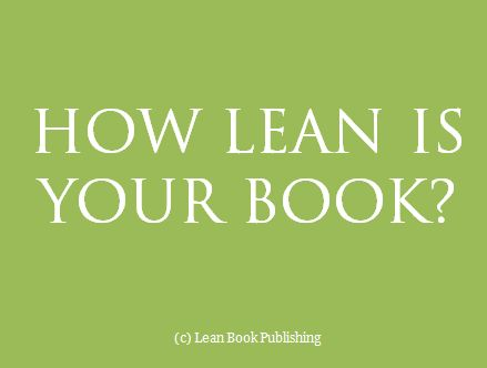 How Lean is your Book